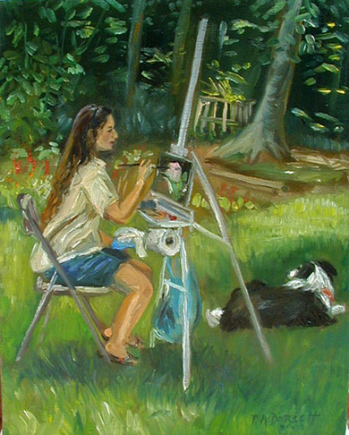 Virginia Portrait Artist