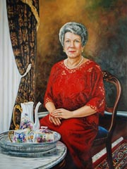 Examples of Portraits of Women by Portrait Artist Patsy Arrington Dorsett