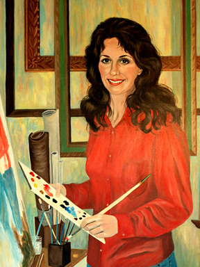 Portrait Painter Patsy Arrington Dorsett Portraits Virginia