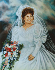 Examples of Bridle Portraits by Portrait Artist Patsy Arrington Dorsett