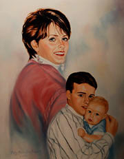 Examples of Private Family & Group Portraits by Patsy Arrington Dorsett