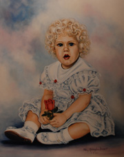 Virginia Portrait Artist - Children Portrait Artist