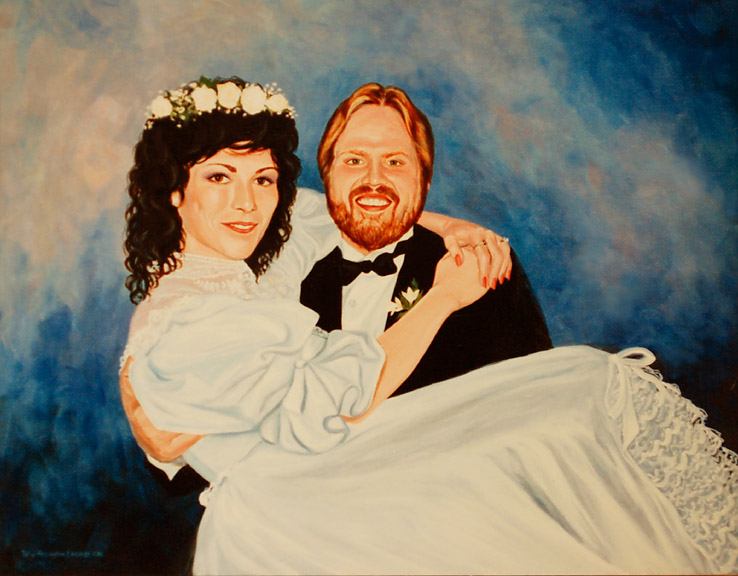 Virginia Bridal Portrait Artist