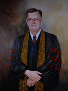 Examples of Portraits of Clergy by Portrait Artist Patsy Arrington Dorsett