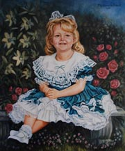 Virginia Portrait Artist - Children Potrait Artist