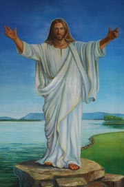 Examples of Spiritual Portraits and Paintings of Jesus by Patsy Arrington Dorsett