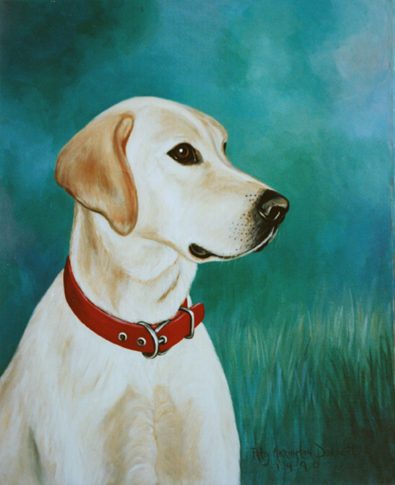 Portrait Painter in Virginia - Pet Portraits