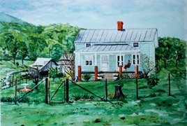 Portrait Painter in Virginia - Homeplaces
