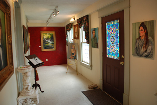 Studio of Patsy Arington Dorsett, Portrait Artist